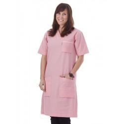 Klänning Rosa med + 10cm extra längd